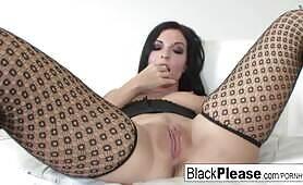 Tattooed starlet Aria really likes the ebony cock