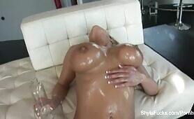 Shyla Stlyez takes a gigantic ebony cock