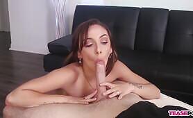 Intense edging POV oral sex Dani Blu [TeasePOV]