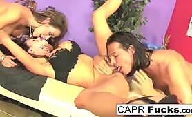 Capri Cavanni and Arilla Ferra have a threesome!