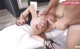 HerLimit Shalina Devine Romanian MILF fucked In Her Tight booty By A fat cock