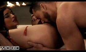 ravishing Emily Willis Opens Her behind For A enormous dong